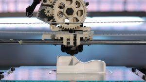 Imprenta 3D online - impresora 3D en funcionamiento