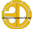 Logo de diseno impresion 3D. Diseño impresión 3D. Impresión de modelos en 3D, escaneado tridimensional 3D y diseño CAD y orgánico.